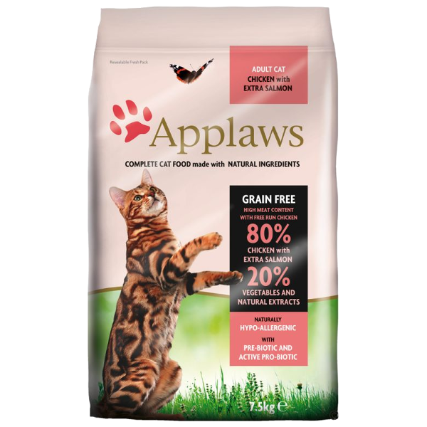 Applaws Cat Adult Chicken & Salmon - kurczakiem z łososiem