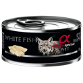 Alpha Spirit Cat White Fish Sterilized