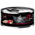 Alpha Spirit Cat White Fish & Apple
